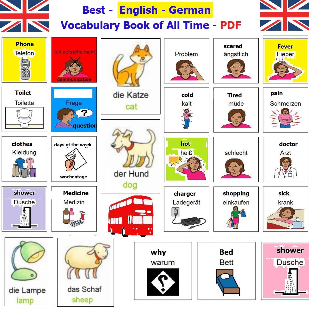 Best German – English Vocabulary Book of All Time – PDF – Deutsch ...